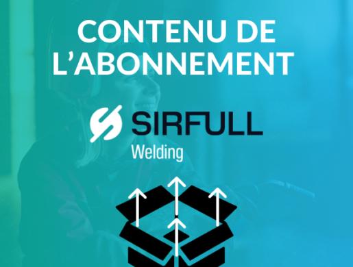Contenu de l'abonnement SIRFULL welding