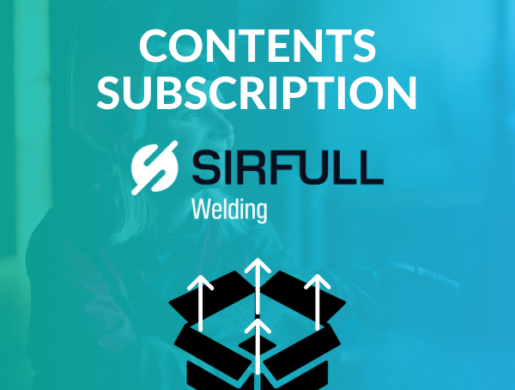 Contents of the SIRFULL welding subscription